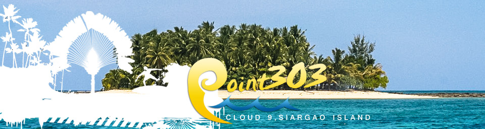 point 303 cloud 9 siargao philippines surfing siargao